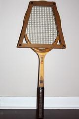 Granddaddy's tennis racquet