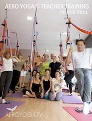 AERO YOGA© SWING WITH THE STUDENTS. TEACHER TRAINING