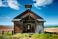 School's Out for Summer (Deej6) Tags: school house abandoned oregon pacific northwest decay farmland fields boyd dalles the dufur d80 nikon18200vr platinumheartaward