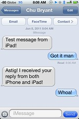 FYI: #iMessage = cool  #iOS5