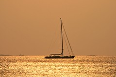 Gold (maksid) Tags: sea summer gold boat greece peloponissos neapolis supershot lakonia aplusphoto superhearts