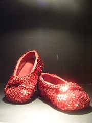 Red Baby Slippers by Willie Rayburn