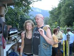 Gabriella and Marcel (fitcat) Tags: schweiz switzerland suisse bbq barbeque svizzera 50thbirthday grillparty 50today trimmis 50zigstergeburtstag