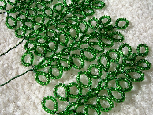 Branches for beaded Christmas tree