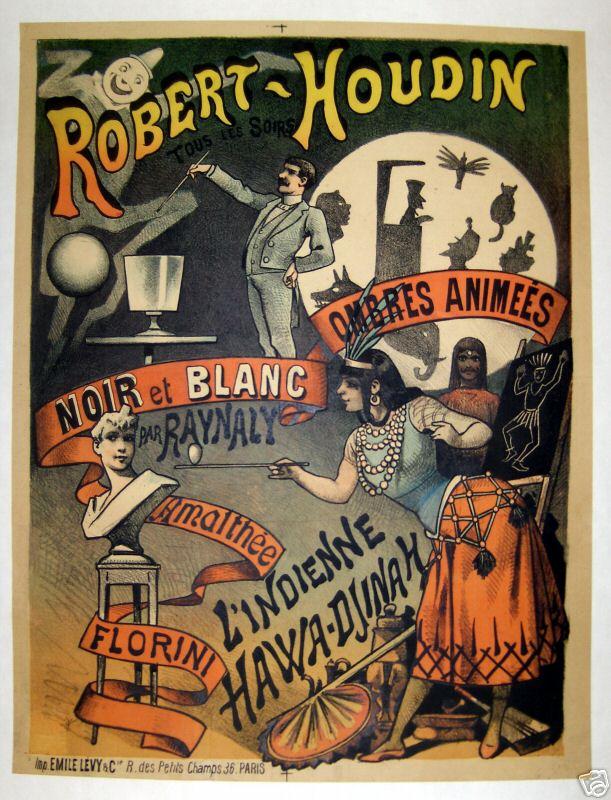 Robert Houdin Poster