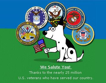 Veterans Day - Dogpile
