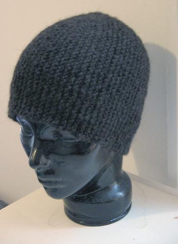 Garter Short-row Hat from knitlist