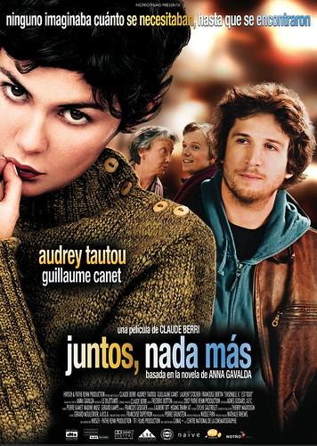 Poster Juntos, nada más Audrey Tautou