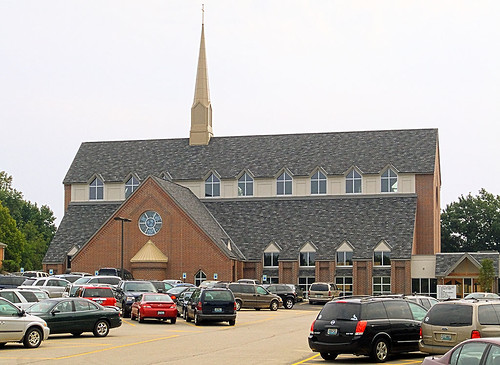 Holy Spirit Parish new church, in Maryland Heights, Missouri, USA - exterior.jpg