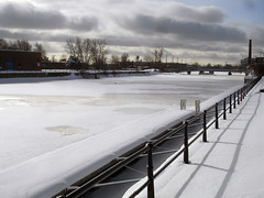 Canal Lachine - Frozen 3