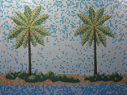 tile palms