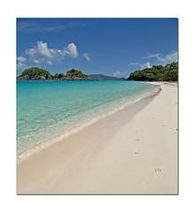 st john beach scene (BeautyLives) Tags: ocean blue white green beach nature water sand bluesky stjohn breathtaking ysplix