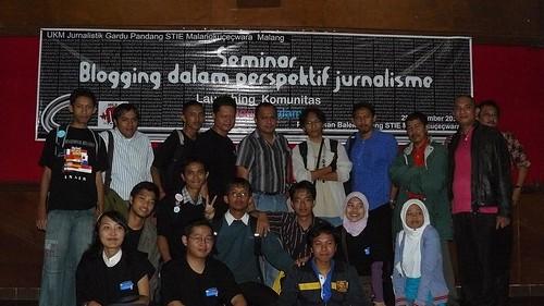 Launching Komunitas BloggerNgalam.com