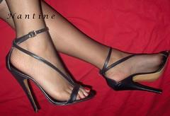 Bambi 2 (Kwnstantina) Tags: woman foot women long highheels sandals heels longlegs sexyfeet highhheels    femalelongnails