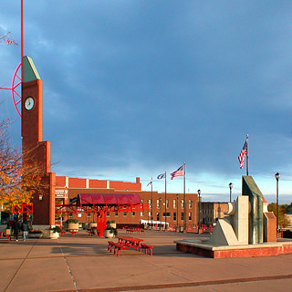 Downtown Elkhart, IN Civic Plaza