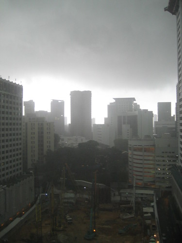 Tornado at Orchard Road?
