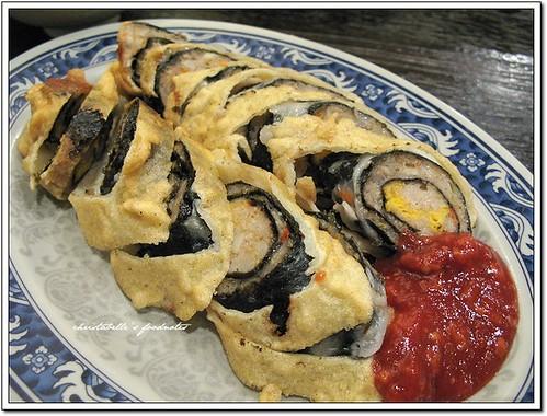 小隱大隱鱈魚蛋黃捲 Cod and Egg Rolls