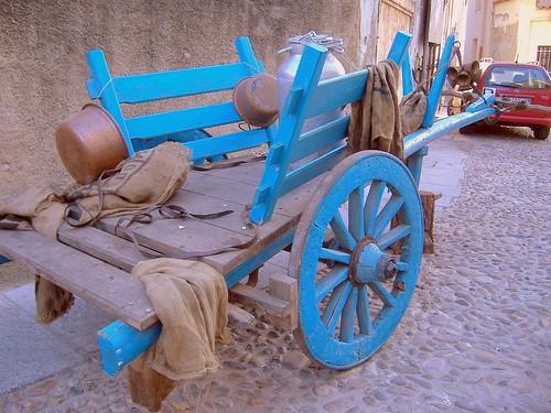 Carro a buoi tradizionale