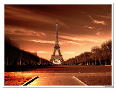 Greetings from Paris ( LightMirror) Tags: paris sepia postcard eiffel hdr smrgsbord lightmirror mywinners platinumphoto diamondclassphotographer flickrdiamond betterthangood mailciler