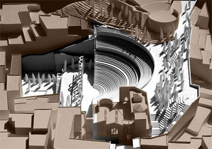 Carthago nova teatro maqueta moneo de terrant por flickr