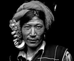 Sichuan, Khampa nomads #4 (foto_morgana) Tags: china asia sichuan soe nomads minorities blueribbonwinner khampa diamondclassphotographer flickrdiamond traditionallifestyle tibetannomads khampanomads