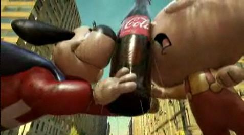 Stewie Underdog Coca-Cola
