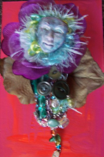 Thinking Spring Spirit doll