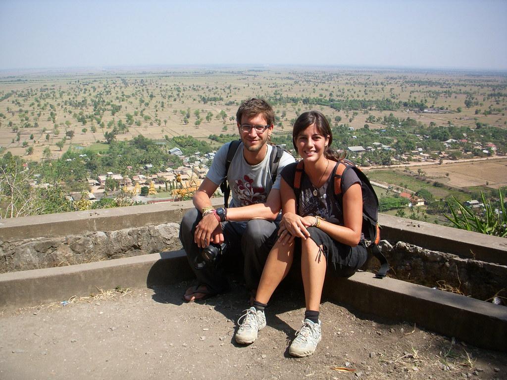 vistas desde lo alto del templo