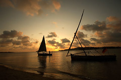 sunset-in-manda-beach