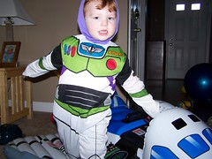 Parker as Buzz Lightyear
