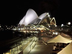 sydney opera house night (Aaron Boysen) Tags: trip travel blue sky house art beach beautiful animal night canon landscape boats town photo amazing nice opera slow bell country aaron sydney bad picture pic best explore more austrailia 450 depth viewed hoilday boysen austraillia iphotoedited 450d bestofaustralia austailia