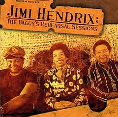 Band of Gypsys promotional photo from December of 1969: Buddy Miles, Jimi Hendrix and Billy Cox. Miles joined the ancestors on February, 26, 2008.