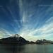 Cloud, Mountain and Lake