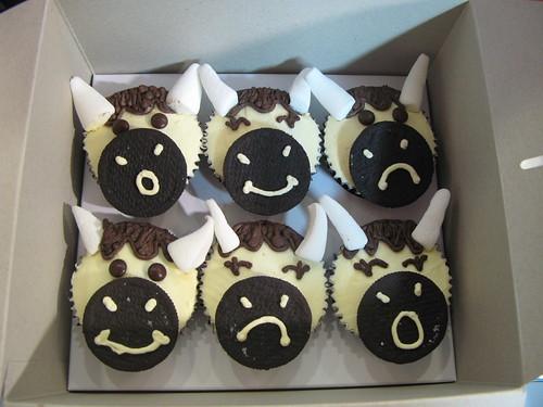 Mooo cupcakes