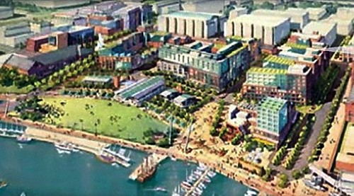The Yards, being developed near Nationals Park by Forest City