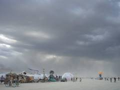 BM 07:  Sand storm continues 2 (a3rynsun) Tags: storm clouds desert wind playa burningman sandstorm bm duststorm 2007 visibility blackrock