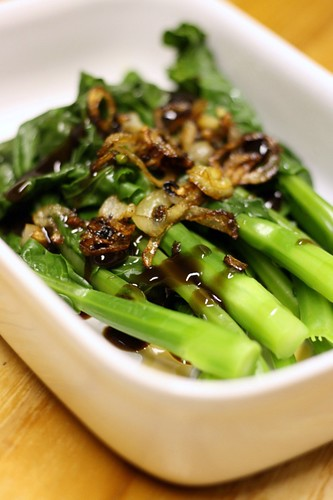 Kailan in oyster sauce 1
