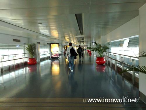 Chongqing Airport exit way