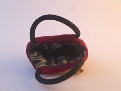 Inside (jackie_greywolf) Tags: bag crochet fatbag craftsa
