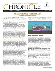 Chronicle Spring 2008
