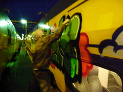 action (4FREE) Tags: holland graffiti trains vandalisme