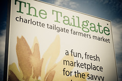 Tailgate Market: Sign