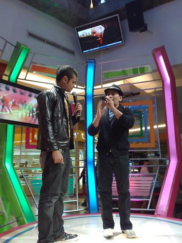 VJ Mike and Tompi