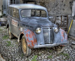 Old banger (Sirspix) Tags: old france alps car voiture smrgsbord hautesalpes laragne aplusphoto