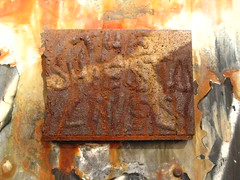 The Shiesta Lives (Becki_Fuller) Tags: street nyc sculpture streetart ny newyork metal photography graffiti 3d steel weld tag revs shiesta theshiestalives