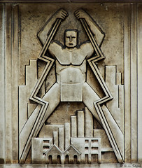 Lightning Bolt Man (rjseg1) Tags: chicago bolt artdeco lightning segal artmoderne pentaxk10d