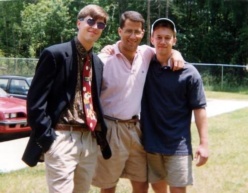 Jason Pearce, Doug Finberg, Brad Phillips 1993