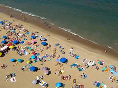South Rehoboth Beach (scottdunn) Tags: kite beach photography crowd aerial kap crowds aerialphotography kiteaerialphotography rehobothbeach crowded scottdunn fotografiaaéreacompipa photoparcerfvolant fesseldrachenluftbildfotografie