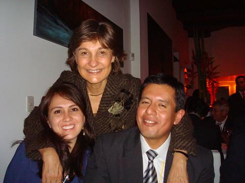 Participantes de la UTPL y Ministra de educación de Colombia