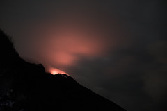 Stromboli 23 (gsamie) Tags: 600d aeolianislands canon guillaumesamie isoleeolie italy rebelt3i sicilia sicily stromboli vulcano black cloud clouds eruption fire fog gsamie lava longexposure mountain night volcano